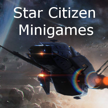 Star Citizen Minigames on RSI Website & Fan Made