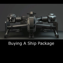 Getting Started – Buying a game package / Choosing A Ship
