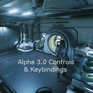 Star Citizen Alpha 3.0 Key Bindings | Commands | Controls