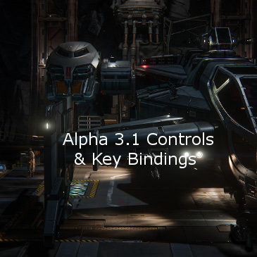 Star Citizen Alpha 3.1 Key Bindings | Commands | Controls