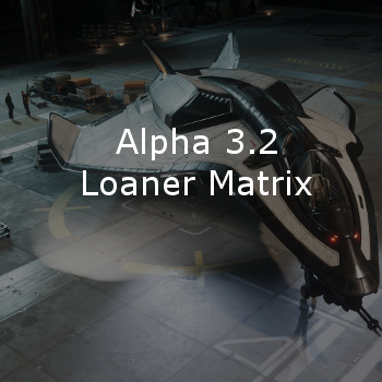 Star Citizen Alpha 3.2 Loaner Ship Matrix