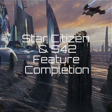 Star Citizen Completion Features Percentage