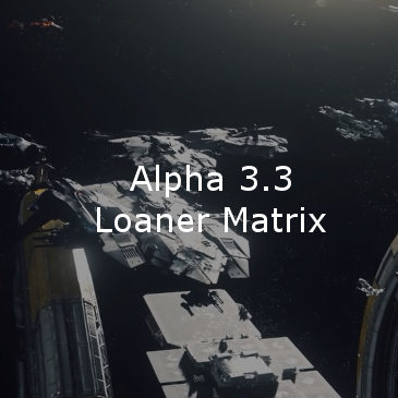 Star Citizen Alpha 3.3 Loaner Ship Matrix