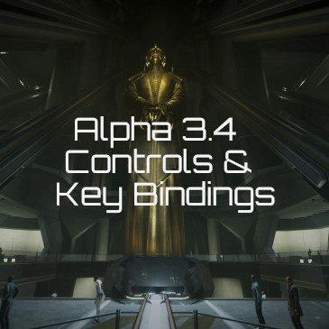 Star Citizen Alpha 3.4 Key Bindings | Commands | Controls