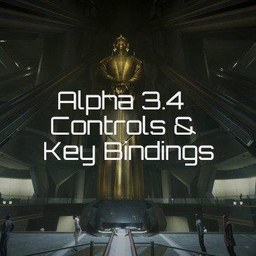 Star Citizen Alpha 3.4 Key Bindings | Commands | Controls