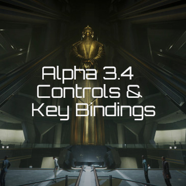 Star Citizen Alpha 3 4 Controls Key Bindings