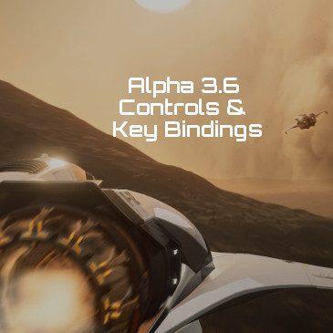 Star Citizen Alpha 3.6 Key Bindings | Commands | Controls