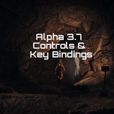 Star Citizen Alpha 3 7 Controls Key Bindings