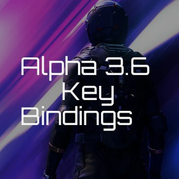 Star Citizen Alpha 3.8 Key Bindings | Commands | Controls