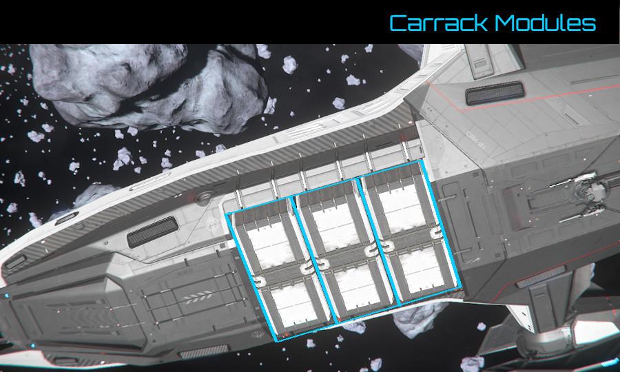 Carrack Anvil Carrack Ship Information