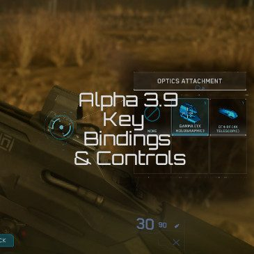 Star Citizen Alpha 3.9 Key Bindings | Commands | Controls