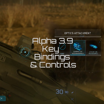 Star Citizen Alpha 3 9 Controls Key Bindings