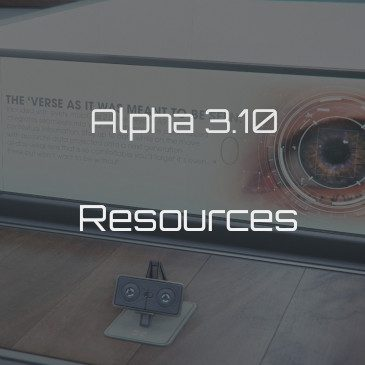 Alpha 3.10 Useful Resources