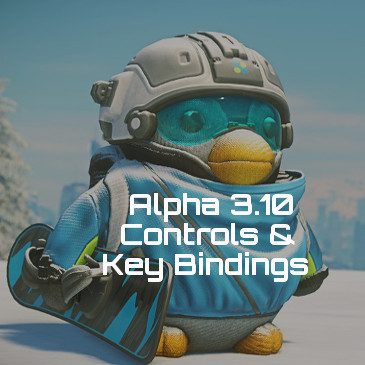 Star Citizen Alpha 3.10 Key Bindings | Commands | Controls